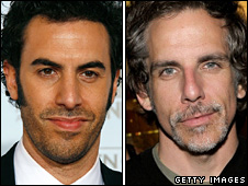 Sacha Baron Cohen and Ben Stiller