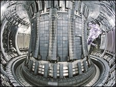 Inside the Jet fusion reactor