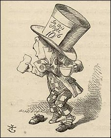 John Tenniel's original illustration of The Mad Hatter