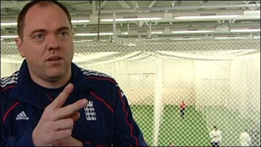 England cricketer Mike O'Mahony