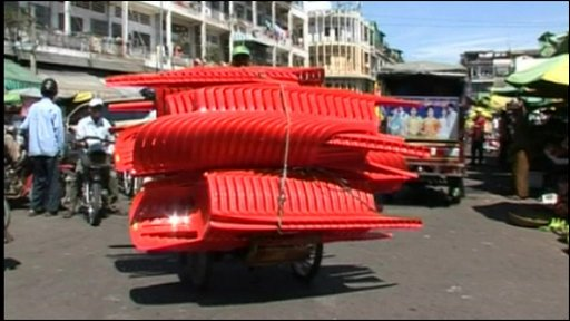 Cyclo transporting chairs