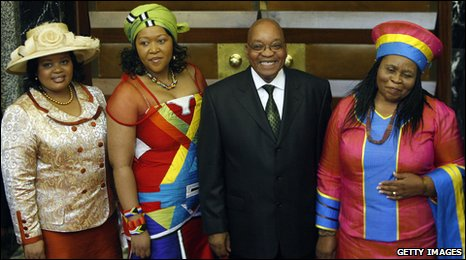 President Zuma and his wives