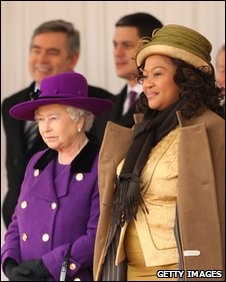 The Queen and Mrs Zuma