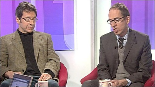 George Monbiot and James Delingpole