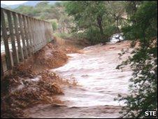 Elephant Watch Safari Camp flooded