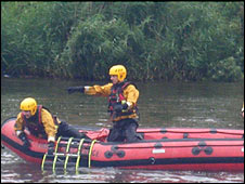 Cheshire Fire and Rescue Service water rescue unit