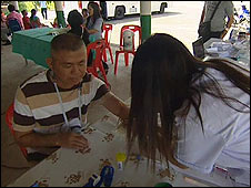 Mobile clinic in Map Ta Phut