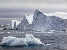 Icebergs in Ilulissat, Greenland