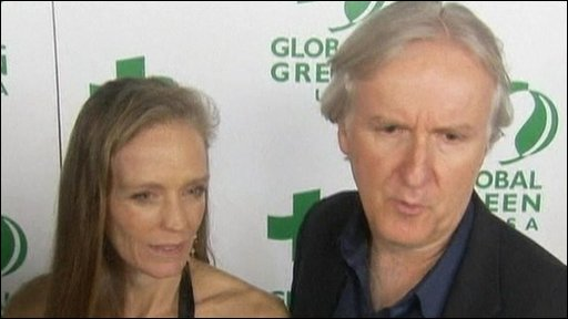 Suzi Amis and James Cameron
