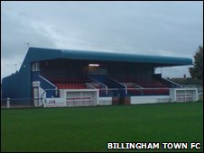 Billingham Town's Bedford Terrace ground