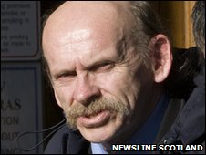 George McIntosh [Pic: Newsline Scotland]