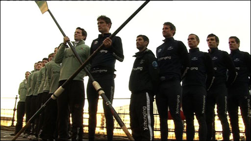 Oxford and Cambridge boat race crews