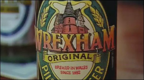 Wrexham Lager bottle