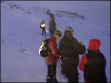 Icelandic climbers