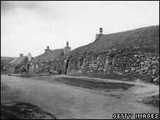 Crofters' cottages