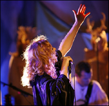 Goldfrapp at the BBC Electric Proms in 2008