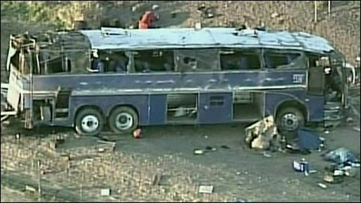 Bus crash in Arizona