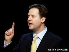 Nick Clegg at Scottish Lib Dem conference