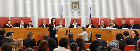 Israeli Supreme Court hearing, 2 March 2010