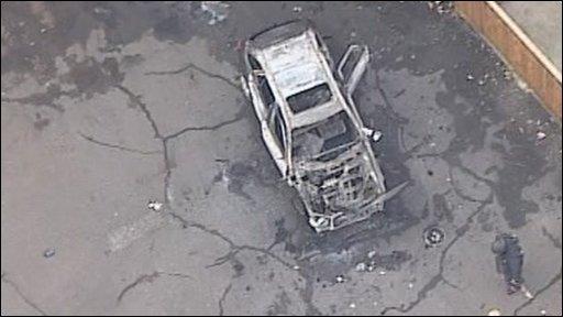 Car explosion in Vigo, Kent