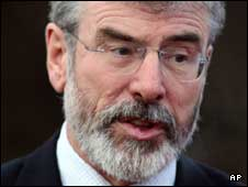 Gerry Adams has endured a turbulent few months