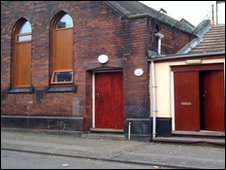 The Islamic Centre in Stoke-on-Trent where a newborn baby was found