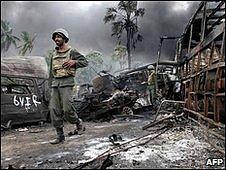 Sri Lanka war zone May 2009