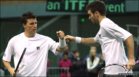 Ken Skupski (left) and Colin Fleming