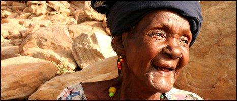 elderly Malian woman [Photo by BBC News website reader Torah Kachur]