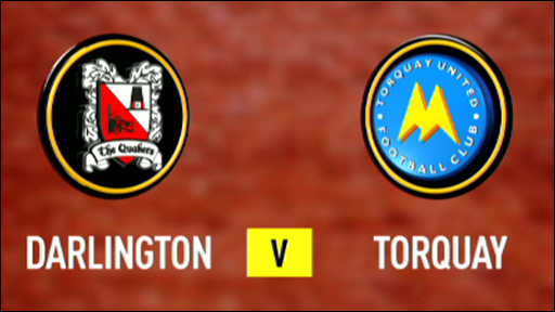 Darlington 1-3 Torquay