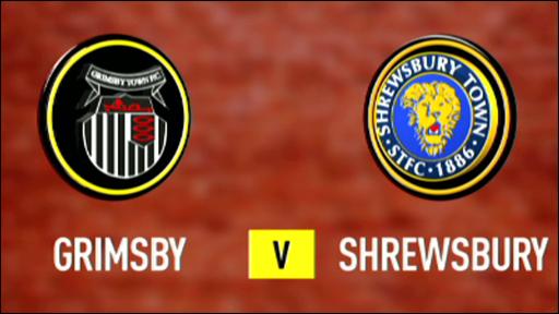 Grimsby 3-0 Shrewsbury