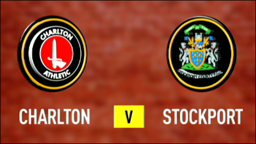 Charlton 2-0 Stockport