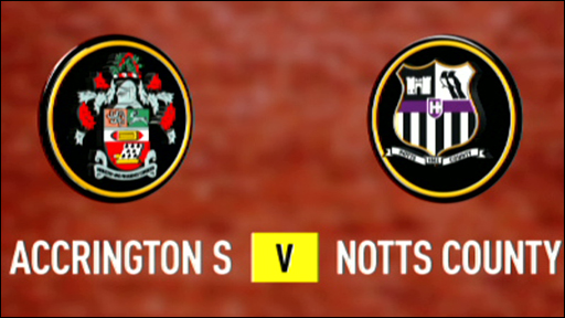 Accrington Stanley 0-3 Notts County