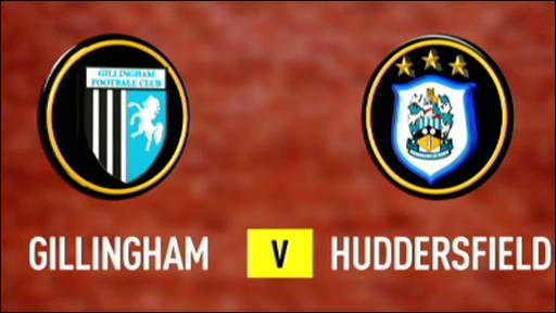 Gillingham 2-0 Huddersfield