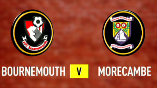 Bournemouth 1-0 Morecambe