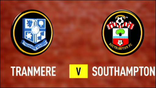 Tranmere 2-1 Southampton