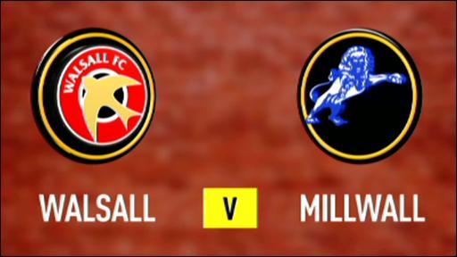 Walsall 2-2 Millwall
