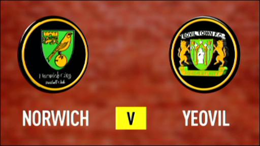 Norwich 3-0  Yeovil