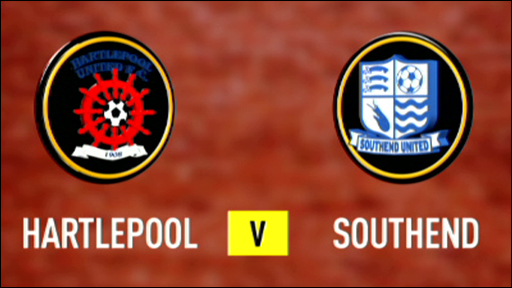 Hartlepool 3-0 Southend