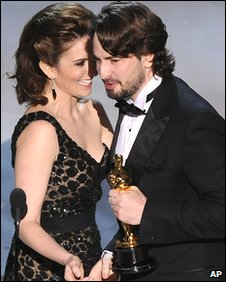Tina Fey and Mark Boal