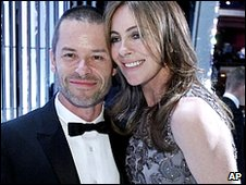 Guy Pearce and Kathryn Bigelow