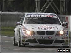 Andy Priaulx racing in Brazil