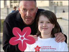 Maddi Green with Sir Ian Botham
