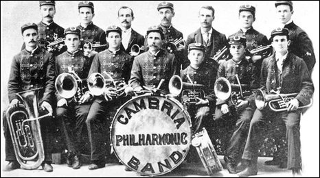 Cambria Philharmonic Band c1890