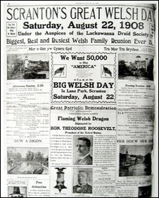 Pennsylvania newspaper 1908