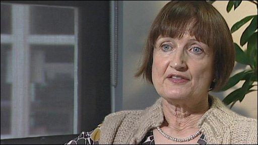 Cabinet Office minister Tessa Jowell
