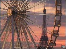 The Paris Ferris wheel