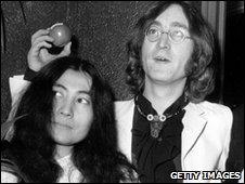 John Lennon and Yoko Ono - Getty Images
