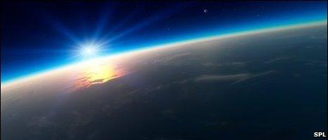 Sunrise over Earth, SPL