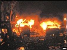 Aftermath of Bali bombings (12/10/2002)